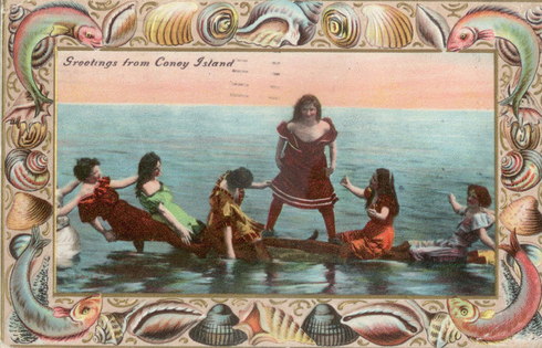 Coney island the ultimate history project greetings from coney island postcard1909 collection of the author m4hsunfo