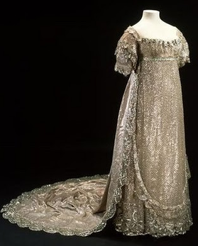 Princess Charlotte S Wedding Dress Was Silver